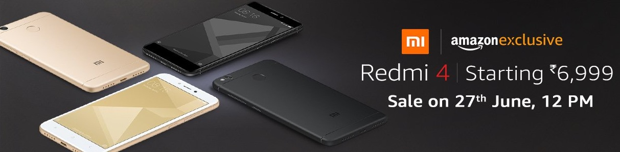 redmi 4 amazon