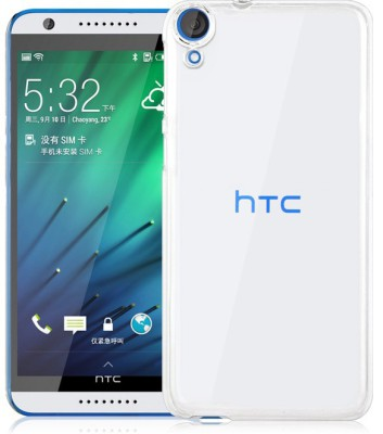 India Desire: Back Cover for HTC Desire 820(Transparent) @ 88/-
