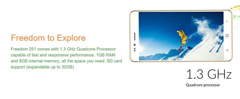 freedom251-specifications