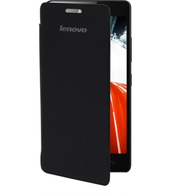 India Desire: Flip Cover for Lenovo A6000 Plus(Black) @ 149/-