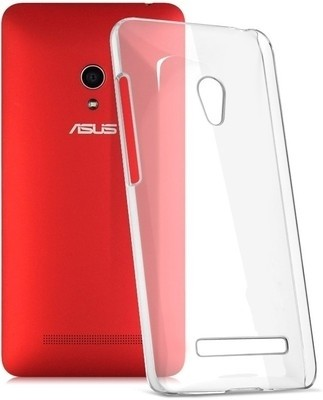 India Desire: Back Cover for Asus Zenfone 5(Transparent) @ 90/-