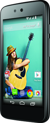 India Desire: Spice Android One Dream UNO Mi-498 (Black, 4 GB)  @ 3999/-