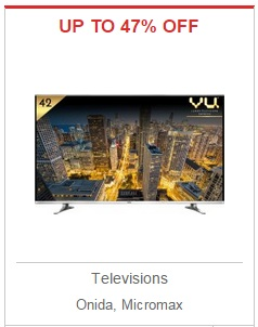 India Desire: Televisions - UP TO 47% OFF