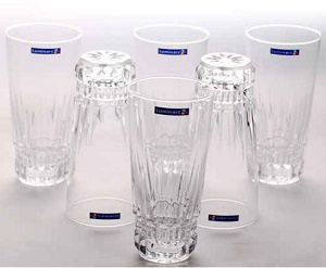 Pepperfry Luminarc Imperator Glass 310 ML Tumbler