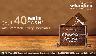 Paytm Schmitten Chocolate deals