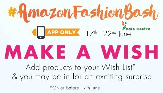 Amazon Fashion deals Exciting Surprise On Amazon App