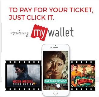 Bookmyshow Wallet Offers 50% Cashback