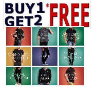 buy 1 Get 2 Free deal