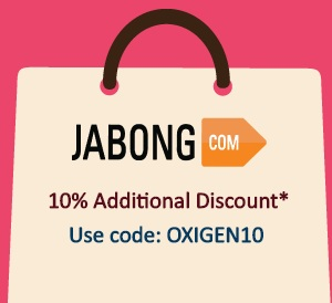 Jabong Oxigen Wallet cashback Offer