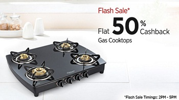 Paytm Gas Stove cashback Offer