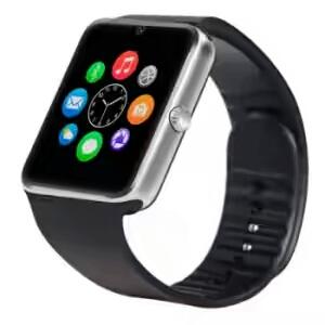 amazon Noise GT08 Digital Square Silver Smart Watch