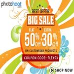 India Desire : Photohaat offer: Get Customized Products at Flat 50 % Off + Extra 30 % Off