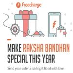 India Desire : Freecharge Rakhi Offer : Upto 25% Cashback On Send Wallet Money Of Rs 100 Or Above