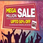 India Desire : Pepperfry Mega Million Sale : Get Upto 50% Off on Furniture, Furnishings, Lamp & More From Pepperfry