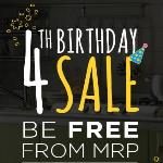 India Desire : Pepperfry 4th Birthday Sale: Get Rs 200 Off On 500 [Account Specific]- BDAY200A